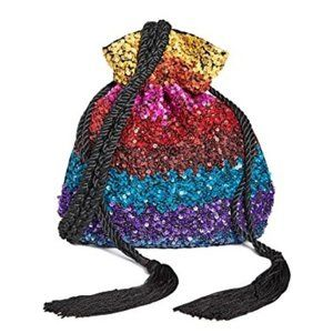 Alice + Olivia - Rope Embellished Pouch - NWT